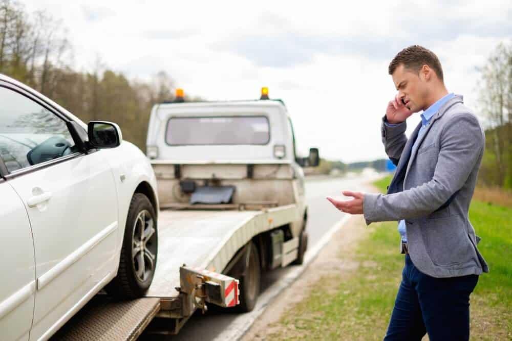 Šlep služba u slučaju kvara automobila