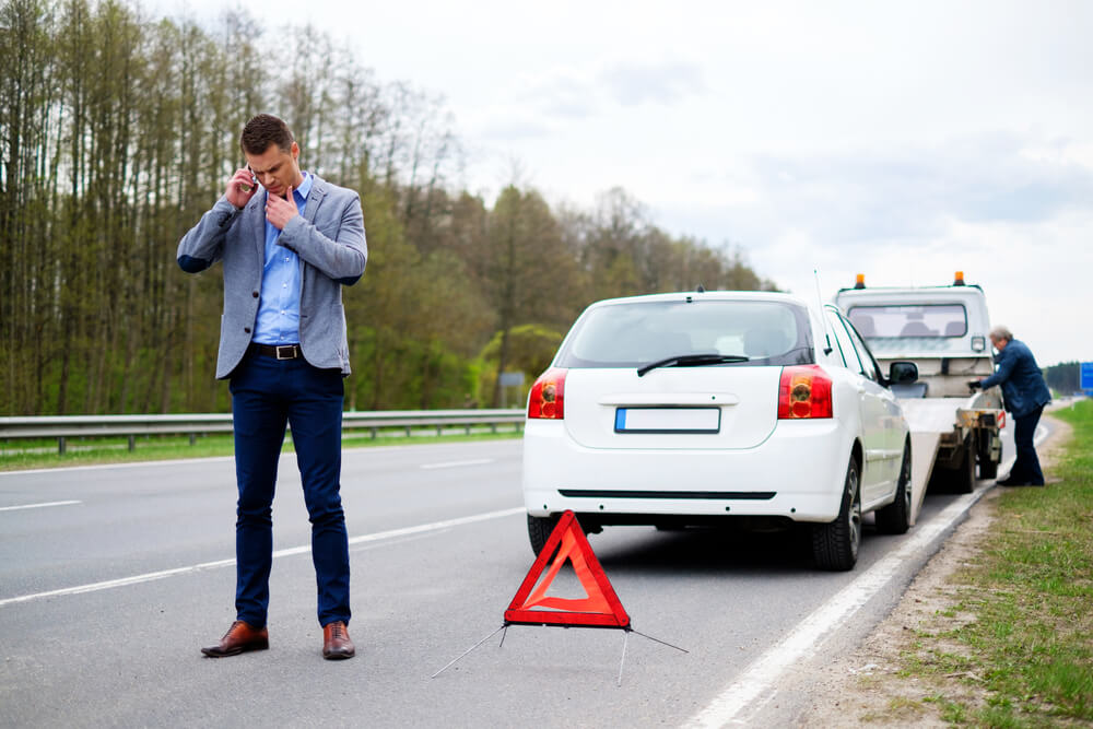 Slepanje automobila u inostranstvu