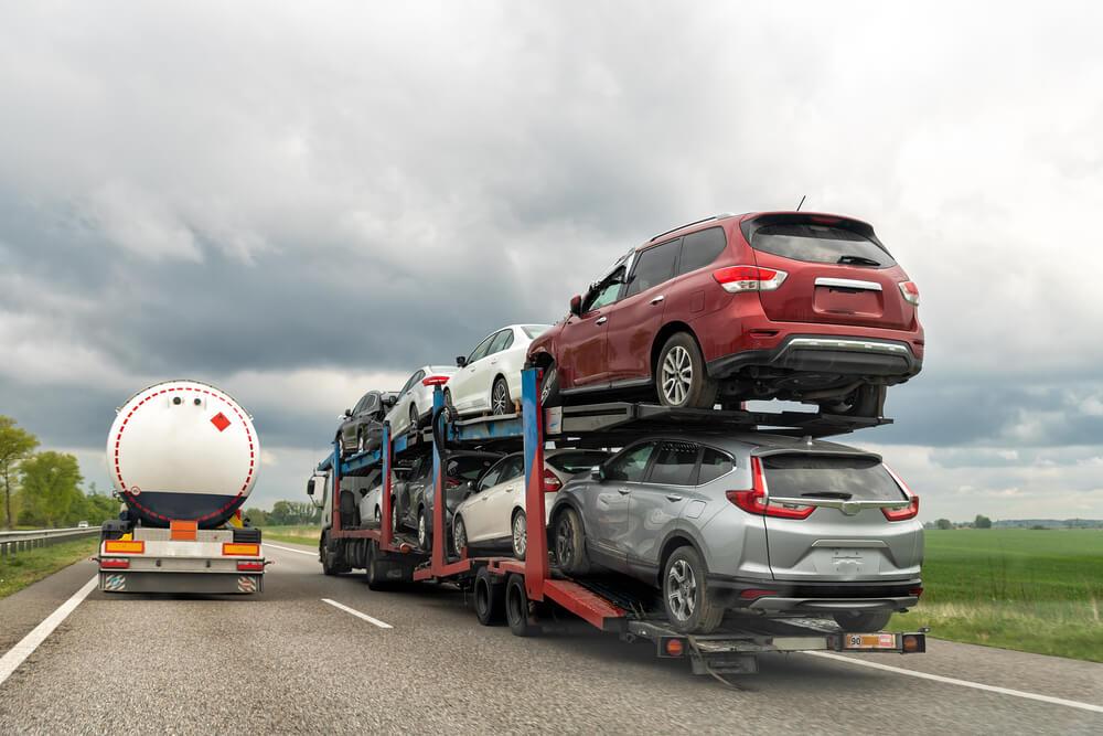 Slepanje SUV vozila