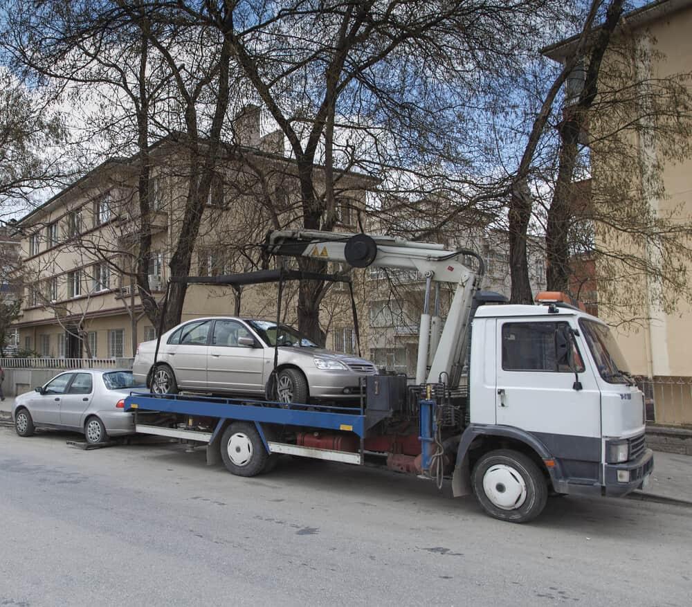 Slepanje vozila u Beogradu